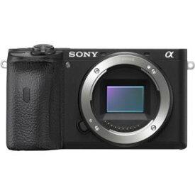【納期約3週間】SONY ソニー ILCE-6600 デジタル一眼カメラ α(アルファ) ボディ ブラック
