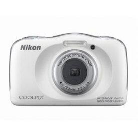 【納期約3週間】★★【お一人様1台限り】Nikon ニコン COOLPIX W150 WH デジタルカメラ ホワイト