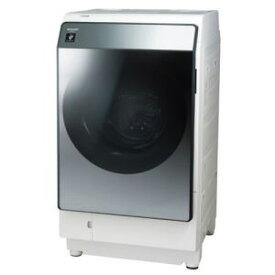 【納期約3週間】【配送設置商品】ES-W113-SL SHARP シャープ ドラム式洗濯乾燥機 (洗濯11.0kg・乾燥6.0kg) 左開き シルバー系 ESW113SL「ドラム型」