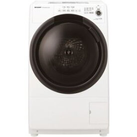 【納期約2週間】【配送設置商品】SHARP シャープ ES-S7F-WL ドラム式洗濯乾燥機 (洗濯7.0kg 乾燥3.5kg・左開き) ホワイト系 ESS7F 「ドラム型」