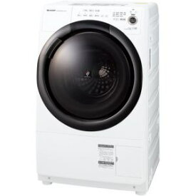 【納期約2週間】【配送設置商品】SHARP シャープ ES-S7F-WR ドラム式洗濯乾燥機 (洗濯7.0kg 乾燥3.5kg・右開き) ホワイト系 ESS7F WR 「ドラム型」