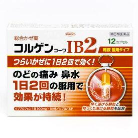 【第(2)類医薬品】【税 控除対象】コルゲンコーワIB2 12カプセル