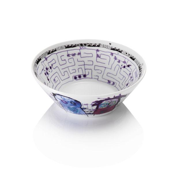 Poul Pava be friendsaida labyrinth bowl 17cmアイーダ ポールパヴァ ボウル17cm【あす楽対応】【HLS_DU】