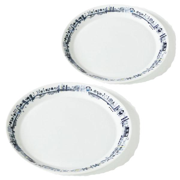Poul Pava be friendsaida lunch plates 22cm 2pcs Gift Box2個入ギフトボックスアイーダ ポールパヴァ ランチプレート22cm【あす楽対応】【ギフト推奨】【送料無料】