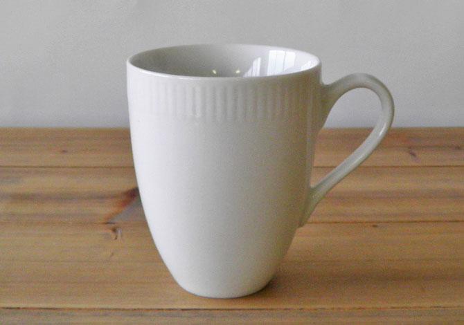 アイーダ レリエーフ マグカップ300ml北欧の白いシンプルなテーブルウェア電子レンジOK!食洗器OK!【送料無料】【あす楽】