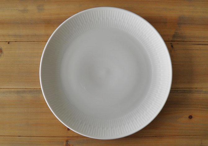 アイーダ レリエーフ ディナープレート27cm北欧の白いシンプルなテーブルウェア電子レンジOK!食洗器OK!【送料無料】【あす楽】