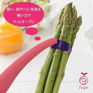 【オークス】leye サッと開封キッチンカッター ピンク 日本製