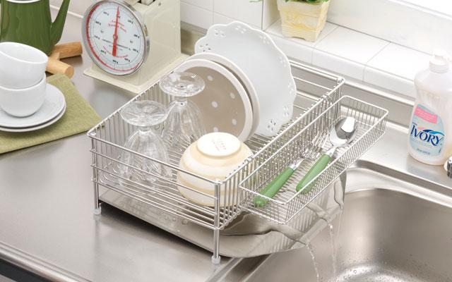 la base reverse new dish drainer basket 3 points set small dlm8688