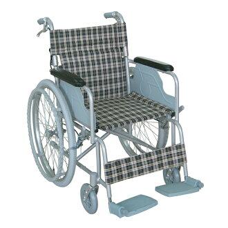 Y.k.股份 TacaoF (tacaof) 与手制动铝合金轮椅自走式的轮椅 fs04gm