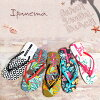 SALE ☆ Ipanema beach Sandals PARAISO/PM81840 ipanema Sandals / flip flops Womens / Sandals Brazil Sandals / Beach / import sandals and floral tropical