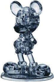 ハナヤマ クリスタルギャラリー 立体パズル ディズニー ミッキーマウス ブラック