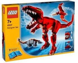 レゴ デザイナー 恐竜デザイナー 4507