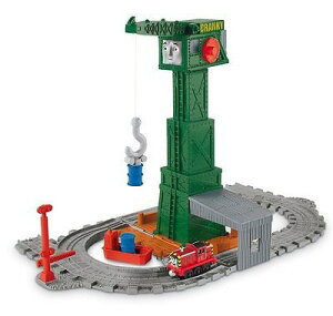 Fisher Price フィッシャープライス トーマス クランキー Cranky at the docks
