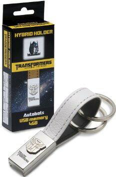 トランスフォーマー オートボット HYBRID HOLDER USB キーホルダー ホワイト