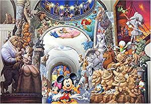 テンヨー ジグソーパズル 2000ピース ディズニー オールキャラクターミュージアム