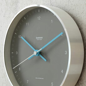 タカタレムノス 掛け時計 電波時計 電波 Lemnos レムノス MIZUIRO ミズイロ 森 豊史 北欧 おしゃれ かわいい タカタレムノス 時計 壁掛け時計 壁掛け