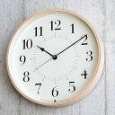 タカタレムノス 掛け時計 電波時計 北欧 TOKI トキ Lemnos レムノス おしゃれ 壁掛け時計 電波 アナログ かわいい 木…