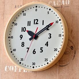 タカタレムノス lemnos 掛け時計 funpunclock ふんぷんくろっく Lサイズ 掛時計 時計 ナチュラル 保育園 幼稚園 小学校 子ども キッズ 子ども部屋 勉強 おしゃれ デザイン 北欧 モダン シンプル 壁掛け ふんぷんクロック 知育時計