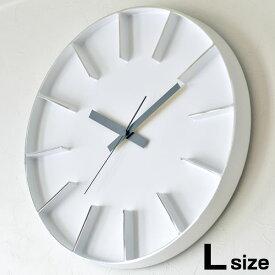 タカタレムノス 掛け時計Lemnos レムノス Edge Clock エッジクロック Lサイズ AZ-0115 壁掛け時計 時計 インテリア デザイン アルミニウム おしゃれ 壁掛け スイープムーブメント 連続秒針 AZUMI 北欧 かわいい 子供部屋 リビング 子供 キッチン 寝室 音がしない