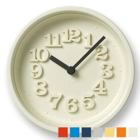 タカタレムノス lemnos 掛け時計 小さな時計 WR07-15 置き時計 渡辺力 壁掛け時計 デザイン インテリア 復刻 レリーフ文字 おしゃれ かわいい 人気 北欧 クロック リキクロック 楽天 305252 時計 掛け時計