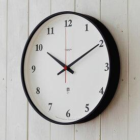タカタレムノス 掛け時計 電波時計 レムノス LEMNOS Plywood clock プライウッドクロック LC05-01W 北欧 木製 おしゃれ かわいい 時計 壁掛け 電波