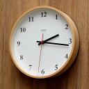 掛け時計 電波時計 Lemnos レムノス Plywood clock プライウッド クロック LC10-21W 電波掛け時計 掛け時計 壁掛け 壁掛け時計 電...