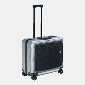 [正規品]送料無料 5年保証付き RIMOWA Lufthansa Bolero Multiwheel 30L リモワ ルフトハンザ ボレロ マルチホイール ラージ ビジネストロリー シルバー 1749141