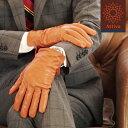 Attivo スマートフォン対応(一部カラーのみ) 革手袋 メンズ 秋冬 羊革(ラムスキン)[6色/4サイズ] [ATKU010]男性用 手…