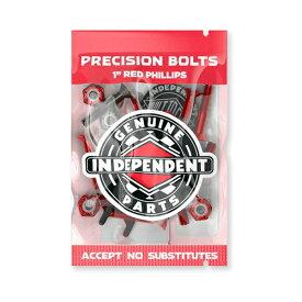 インディペンデント INDEPENDENT/1 PHILLIPS ( RED/BLACK ) ビス、ナット