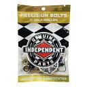 インディペンデント INDEPENDENT/1 PHILLIPS ( BLACK/GOLD ) ビス、ナット