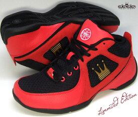 TMBL134【DADA BASKET LINE】P.E.D SUPREME 【黒/赤・RBG】バッシュ バスケット シューズ ダダ