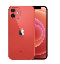 「キャリアSIMロック解除品」Apple iPhone 12 (PRODUCT)RED 256GB SIMフリー レッド MGJ23J/A