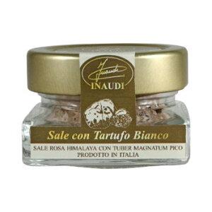 【同梱不可】 イタリア INAUDI社 イナウディ 白トリュフ塩 30g×6個 T12