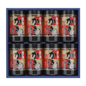 【同梱不可】 やま磯 海苔ギフト 宮島かき醤油のり詰合せ 宮島かき醤油のり8切32枚×8本セット