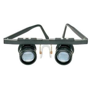 【同梱不可】 エッシェンバッハ 双眼 近用ルーペ リド・メッド(近眼) (3倍) 1636-3 細かい作業 虫眼鏡 拡大鏡