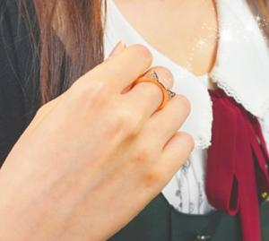 【mimiring】ミミリングプレミアム(PT×ダイヤモンド)10P07Feb16【楽ギフ_包装】