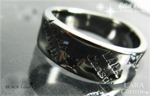 ララクリスティー LARA Christie バベル リング [BLACK Label] 【送料無料】【即納】【プレゼントに最適】10P18Jun16【楽ギフ_包装】