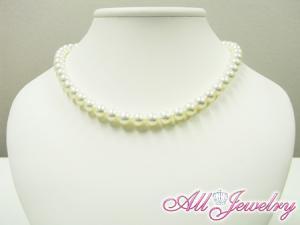 花珠真珠あこや本真珠・花珠パールネックレス8.0〜8.5mm