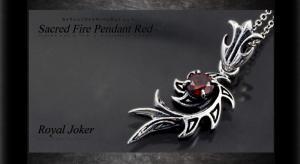 ロイヤルジョーカー Royal Joker セイクレッド ファイヤー(Sacred Fire)ペンダント レッド10P03Dec16【楽ギフ_包装】