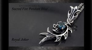 ロイヤルジョーカー Royal Joker セイクレッド ファイヤー(Sacred Fire)ペンダント ブルー10P03Dec16【楽ギフ_包装】