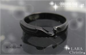 ララクリスティー LARA Christie ヴィクトリア リング(指輪) [ BLACK Label ブラックレーベル] 【送料無料】【即納】【プレゼントに最適】10P18Jun16【楽ギフ_包装】