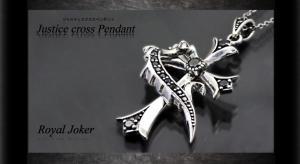 ロイヤルジョーカー Royal Joker ジャスティスクロス(justice cross)ペンダント10P03Dec16【楽ギフ_包装】