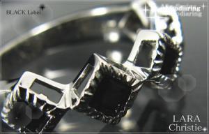 ララクリスティー LARA Christie アフロディア リング [ BLACK Label ブラックレーベル] 【送料無料】【即納】【プレゼントに最適】10P18Jun16【楽ギフ_包装】