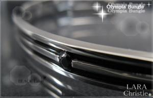 ララクリスティー LARA Christie オリンピア バングル [ BLACK Label ブラックレーベル] 【送料無料】【即納】【プレゼントに最適】10P03Dec16【楽ギフ_包装】