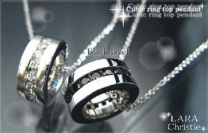 ララクリスティー LARA Christie エタニティ ネックレス [ BLACK Label ブラックレーベル] 【送料無料】【即納】【プレゼントに最適】10P03Dec16【楽ギフ_包装】