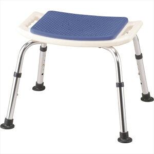 イーストアイ シャワーベンチ すま〜いる 一般 背なし ブルー N-FCN-A 介護用 シャワーチェア バスチェア お風呂椅子
