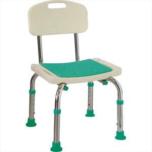島製作所 シャワーチェア 楽湯 Mini 背付 7242 コンパクト設計 お風呂 イス (椅子) 介護用 バスチェア シャワーベンチ お風呂椅子