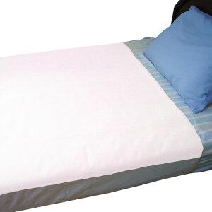 ププキン ソフトパイル防水シーツ ピンク 幅90cm×縦160cm ベッドシーツ 介護ベッド 高齢者 老人 乾燥機OK