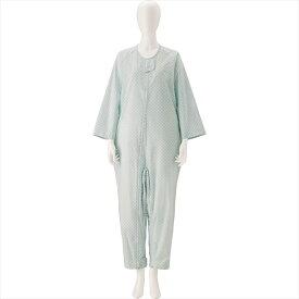 竹虎 竹虎介護ねまき L ブルー 6247 介護用 パジャマ