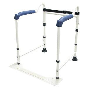 イーストアイ トイレの手すり(折りたたみタイプ) 工具・工事不要 簡単組立 簡単設置 介護 介助